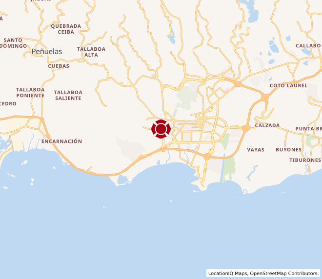 Map of Reina Del Sur #1817