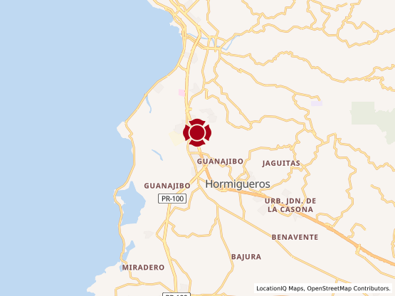 Map of Mayaguez #1718