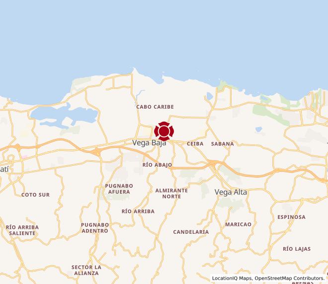 Map of Vega Baja #804