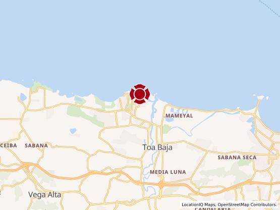 Map of Dorado Del Mar #1324