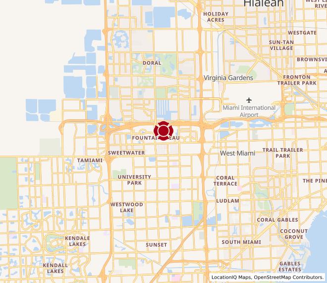 Map of W. Flagler St #1685