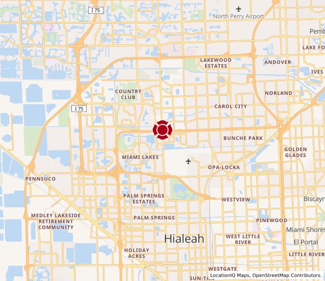 Map of Miami Lakes #427