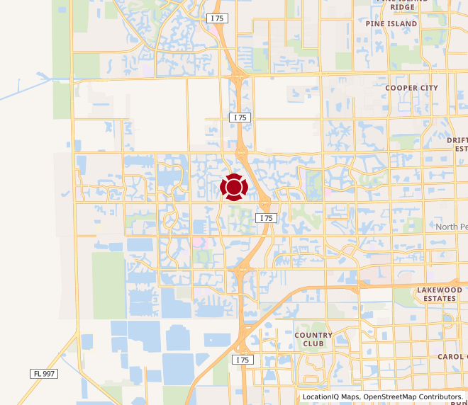 Map of Pembroke Pines #1034