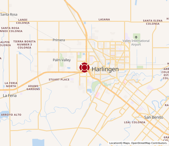 Map of Harlingen Corners #1713