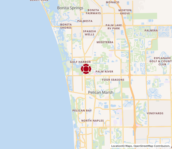 Map of Riverchase North Naples (Immokalee & US 41) #1329