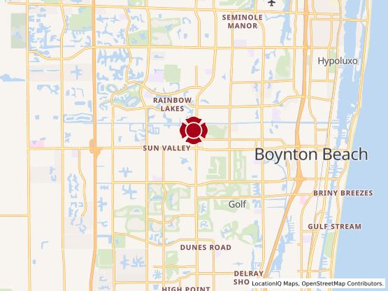 Map of Boynton West #1038