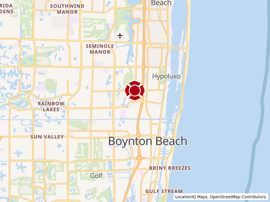 Map of Boynton Beach #335