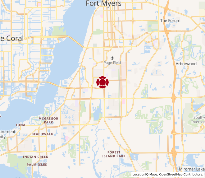 Map of Ft. Myers #118