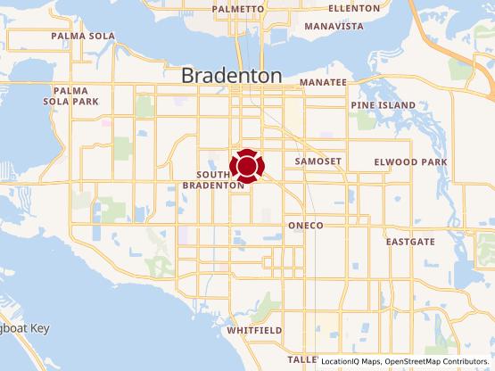 Map of Bradenton #83