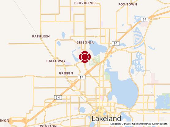 Map of North Lakeland #1010