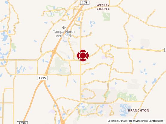 Map of Wesley Chapel #51