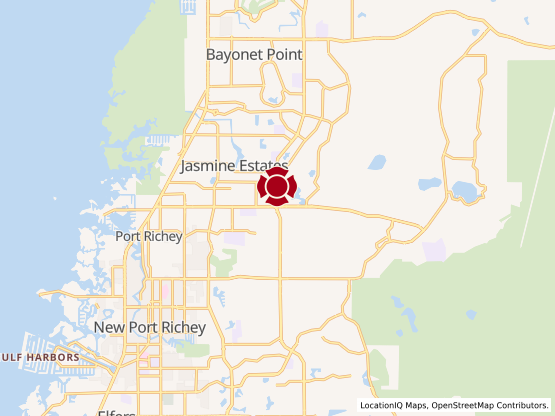 Map of New Port Richey #279