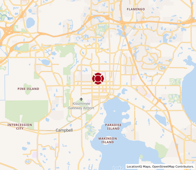 Map of Kissimmee #200