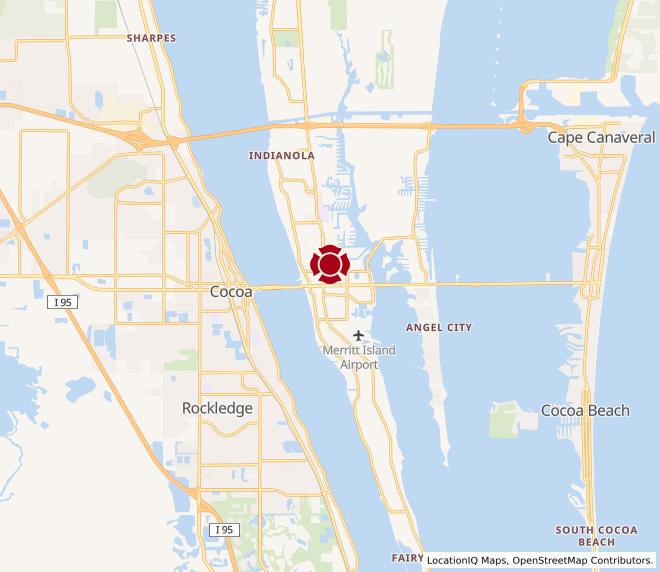Map of Merritt Island #45
