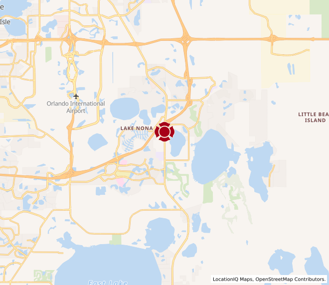 Map of Lake Nona #308