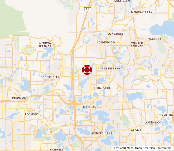 Map of Altamonte Springs #717