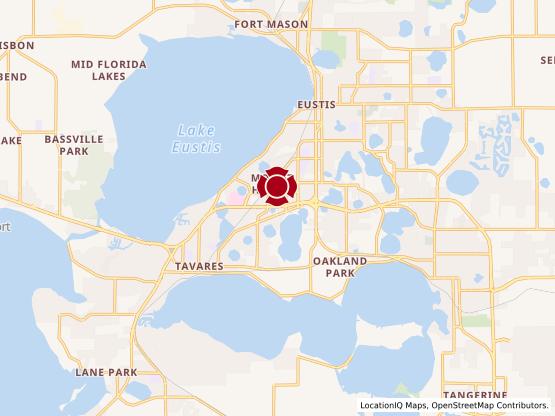 Map of Tavares #688