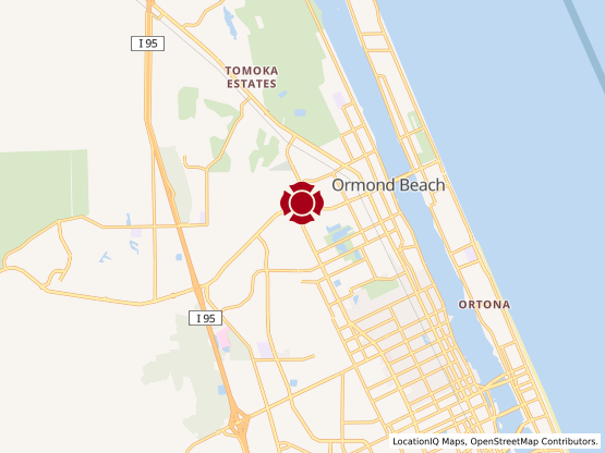 Map of Ormond Beach #208