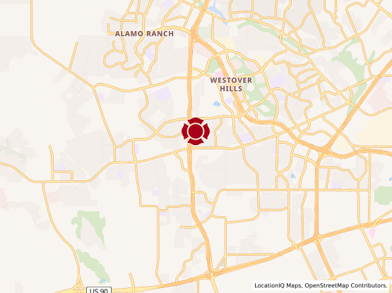 Map of Potranco Village #1399