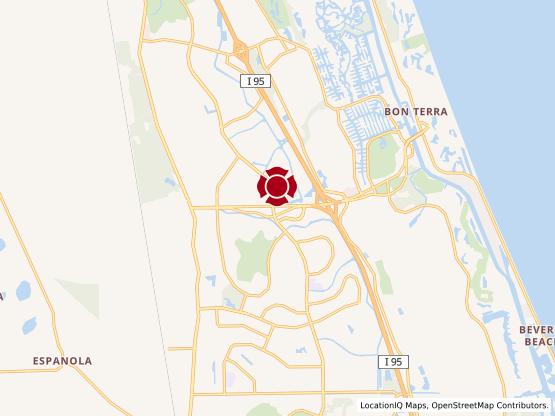 Map of Palm Coast #107