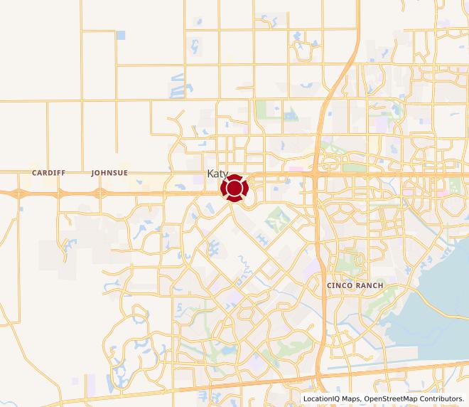 Map of Pin Oak #1405