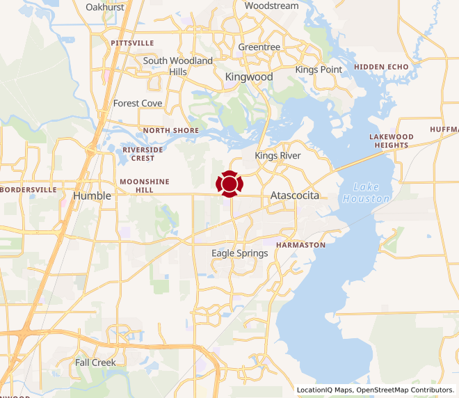 Map of Atascocita #1008
