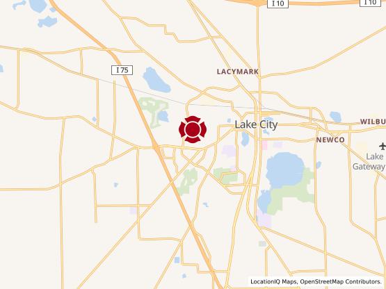 Map of Lake City Village Square #543