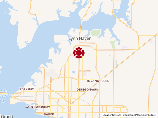 Map of Lynn Haven #55