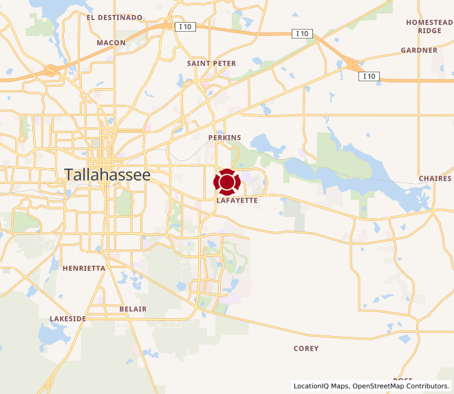 Map of Tallahassee 2 #11