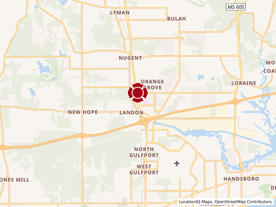 Map of Orange Grove #1434