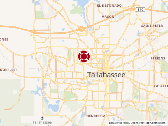 Map of Tallahassee 1 #10