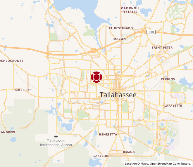 Map of Tallahassee 1(across from FSU) #10