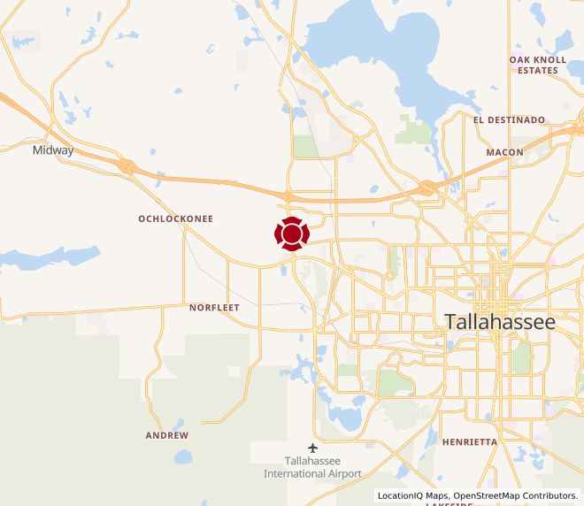 Map of Tally West #71