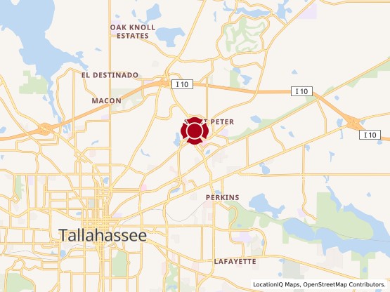 Map of Tallahassee 3 #25