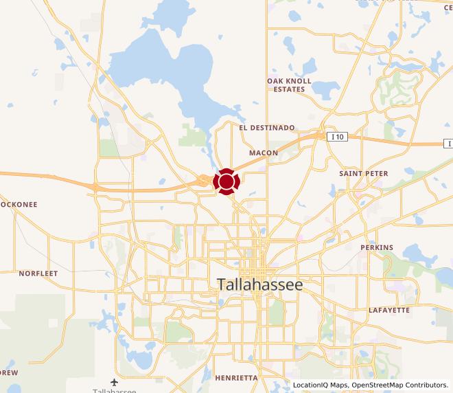 Map of N. Monroe #205
