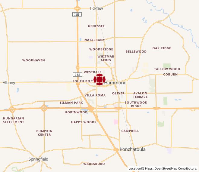 Map of Hammond #609