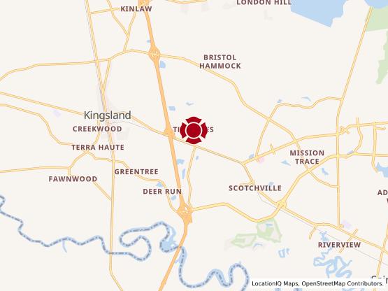Map of Kingsland #959