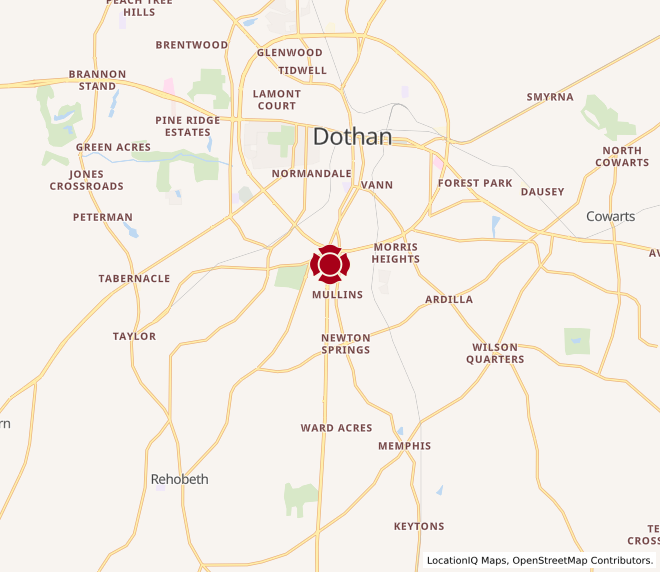 Map of South Dothan #179