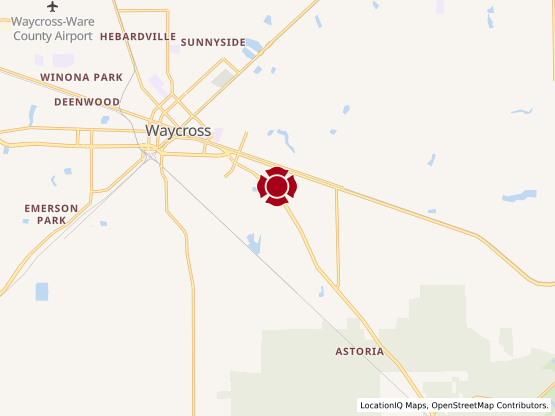 Map of Waycross #682