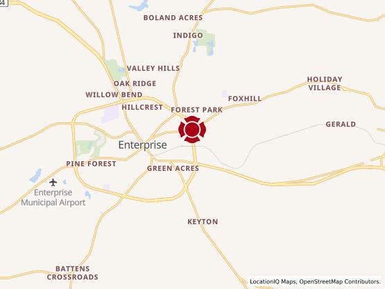 Map of Enterprise #374