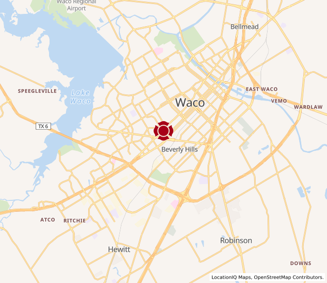 Map of Waco #849