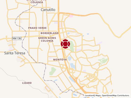 Map of Redd Rd. #1323