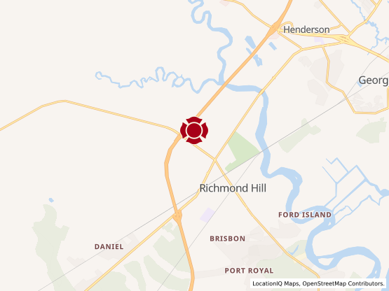 Map of Richmond Hill Commons #1468
