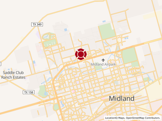 Map of Midland Northpark #933