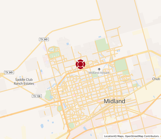 Map of Midland Northpark #933