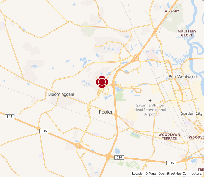 Map of Pooler #828