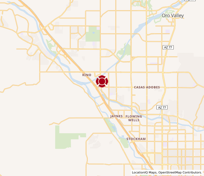 Map of Marana Marketplace #566