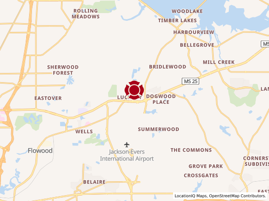 Map of Flowood #510