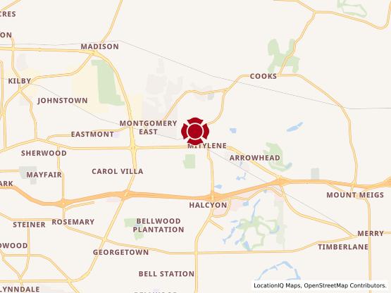 Map of Montgomery #59