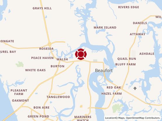 Map of Beaufort #497